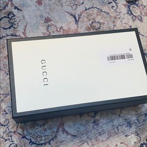 Gucci shoe box
